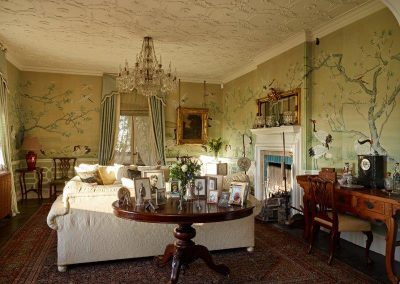 Drawing room towards fireplace