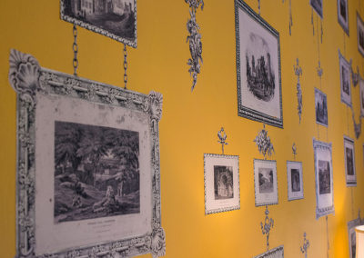 Print Room Wallpaper