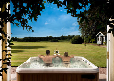 Hot Tub - Overlooking Lawn